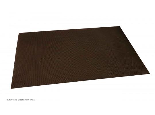 սպասքի տակդիր MARMITON 17141 GEOMETRY BROWN 30X45cm