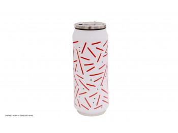 թերմոս BANQUET 48789516 STRIPES RED 430ML