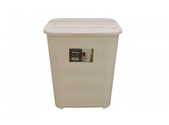 լվացքի զամբյուղ LIMON 151035 BAMBOO HIGH W/LID(902198)