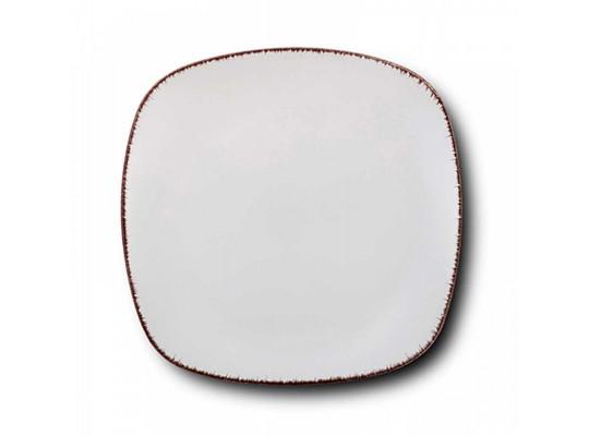 ափսե NAVA 10-099-231 WHITE SUGAR DINNER 26CM