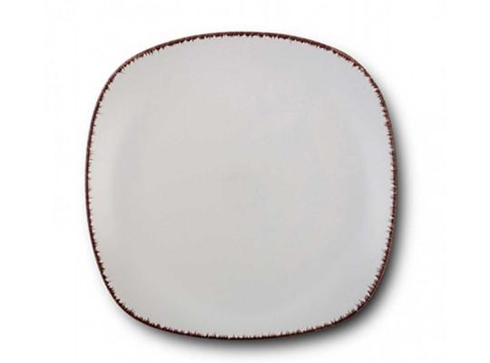 ափսե NAVA 10-099-232 WHITE SUGAR DESSERT 19CM