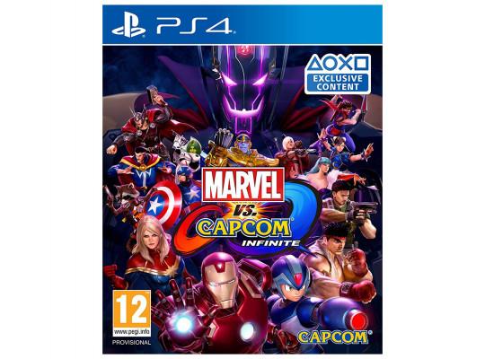 խաղային սկավառակ CAPCOM MARVEL VS CAPCOM INFINITE PS4