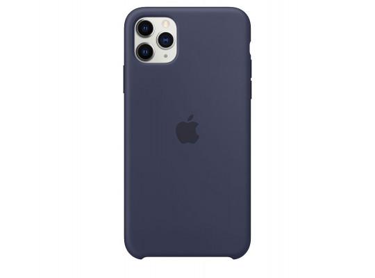 հեռախոսի պատյան APPLE IPHONE 11 PRO MAX SILICONE CASE (MIDNIGHT BLUE) (MWYW2ZM/A)