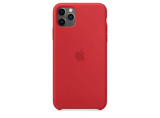 հեռախոսի պատյան APPLE IPHONE 11 PRO MAX SILICONE CLEAR CASE (RD) (MWYV2ZM/A)
