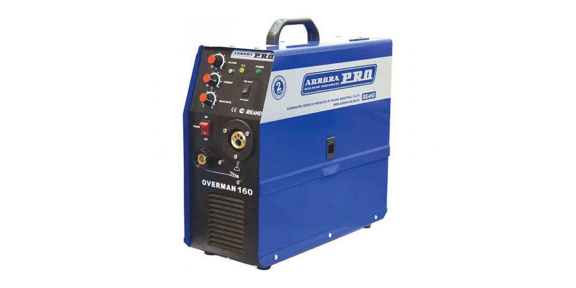 զոդման ապարատ AURORA-PRO OVERMAN 160 MOSFET CO