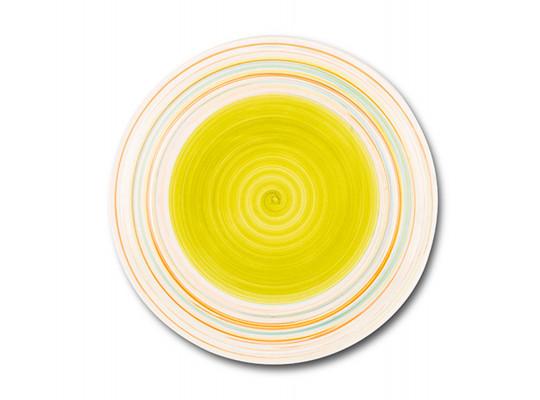 ափսե NAVA 10-099-009 LINES GREEN DINNER 27CM