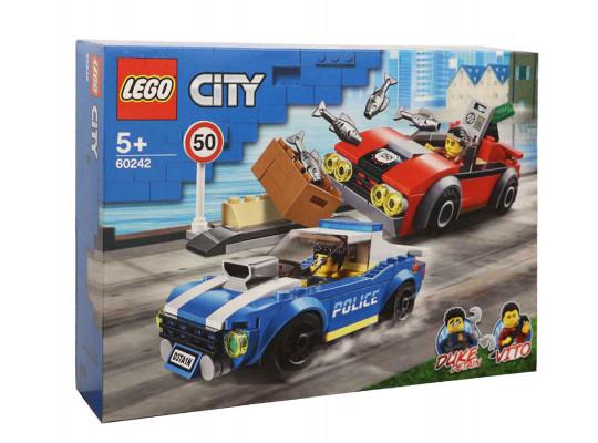 կոնստրուկտոր LEGO 60242 Ձերբակալություն խճուղու վրա 60242