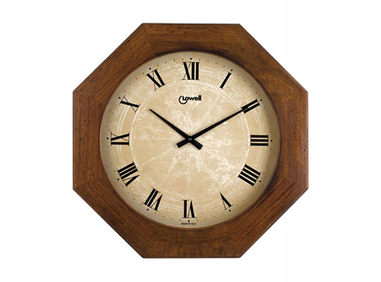 պատի ժամացույց LOWELL 11019B