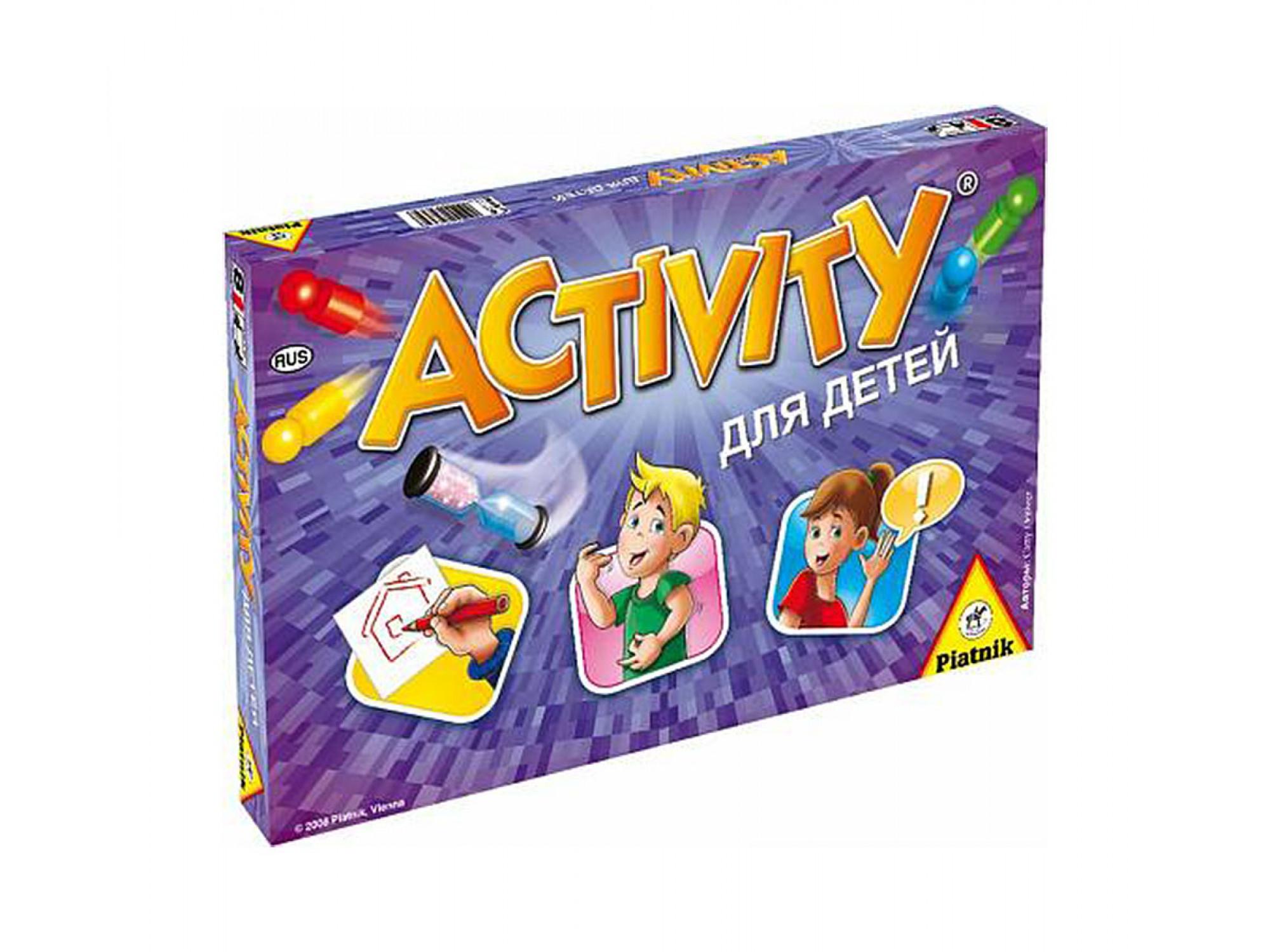 սեղանի խաղեր PIATNIK ACTIVITY երեխաների համար 793646
