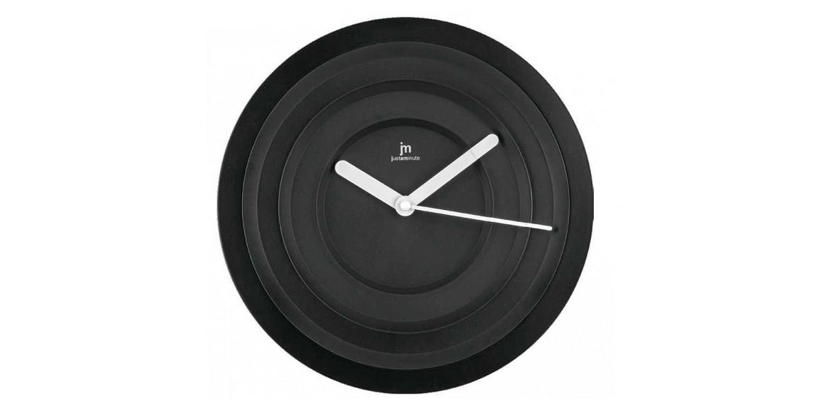 պատի ժամացույց LOWELL 00837N BLACK
