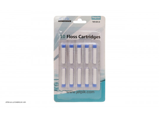 ատամների խնամք եվ իրիգատորի պարագաներ JETPIK 025-22 POWERFLOSS 10PS