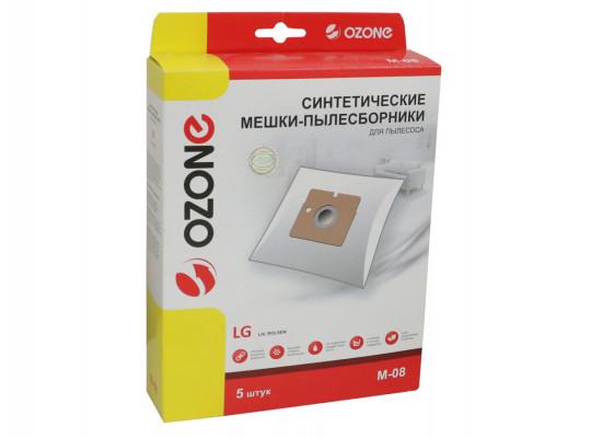 փոշեկուլի պարկ OZONE M-08 (x5)