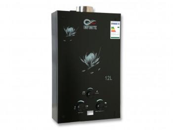 գազային ջրատաքացուցիչ INFINITE JSD-H21 TURBO BLACK GLASS PANEL