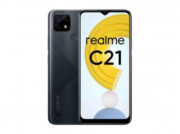 սմարթ հեռախոս REALME C21 4GB 64GB NFC (RMX3201) (BK)