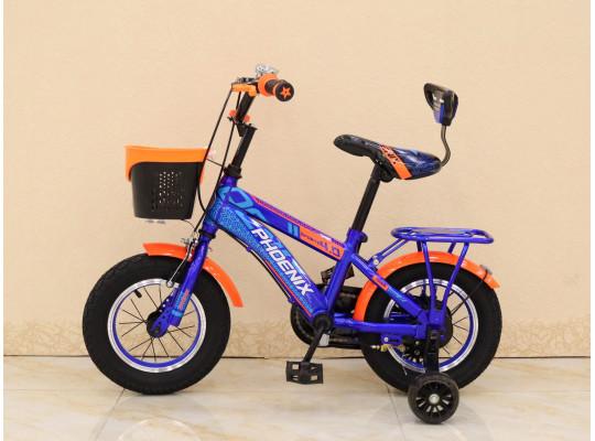 հեծանիվ PHOENIX 12 SPORT BL/OR
