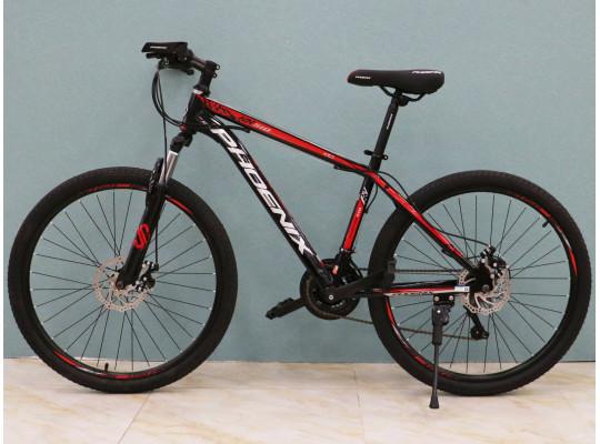 հեծանիվ PHOENIX 26KX510 BLACK/RED