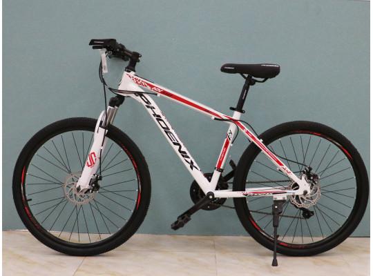 հեծանիվ PHOENIX 26KX510 WHITE/RED