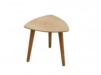 սուրճի սեղան BDF 295 (34.5*33cm) NATURAL&WHITE