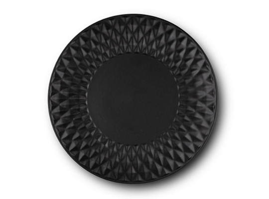 ափսե NAVA 10-141-120 SOHO CLASSIC BLACK DINNER 27CM