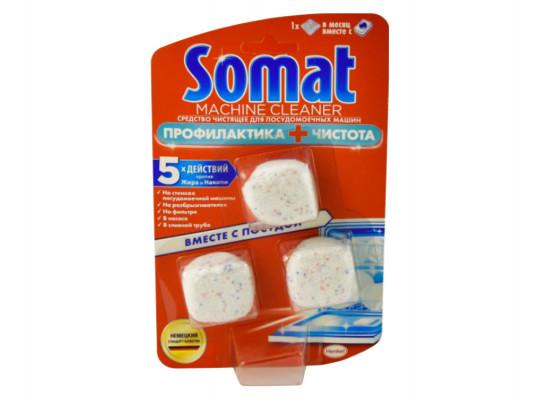 սպասք լվանալու միջոցներ SOMAT DW MACHINE CLEANER PADS 3x20gr(401707) 2491301