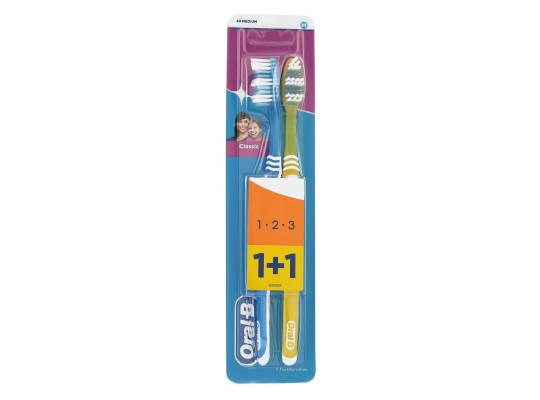 բերանի խոռոչի խնամք ORAL-B TOOTHBRUSH CLASSIC 40 MED DUO(023041) 3041