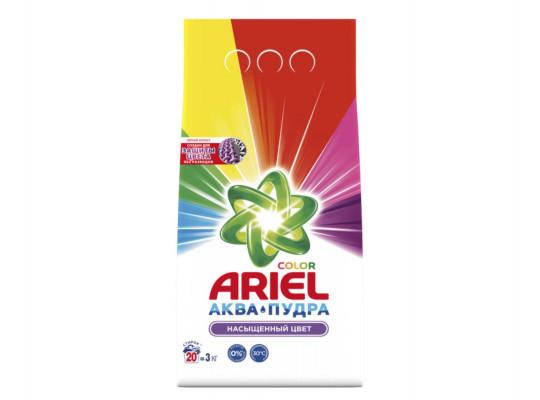 լվացքի փոշի եվ գել ARIEL POWDER LS COLOR 3KG RUS(333437) 3437