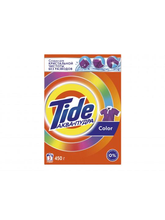 լվացքի փոշի եվ գել TIDE POWDER LS COLOR 450GR RUS(003958) 3958