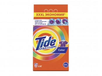 լվացքի փոշի եվ գել TIDE POWDER LS COLOR 6KG RUS(257252) 7252