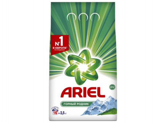 լվացքի փոշի եվ գել ARIEL POWDER LS MS 2,5KG RUS(828538) 8538