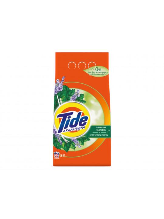լվացքի փոշի եվ գել TIDE POWDER LS LAV+BIRCH TREE 3KG(509655) 9655
