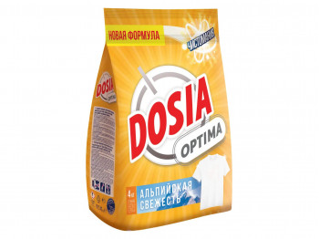 լվացքի փոշի եվ գել DOSIA OPTIMA ALPINE FRESHNESS 4kg(993268) 3268