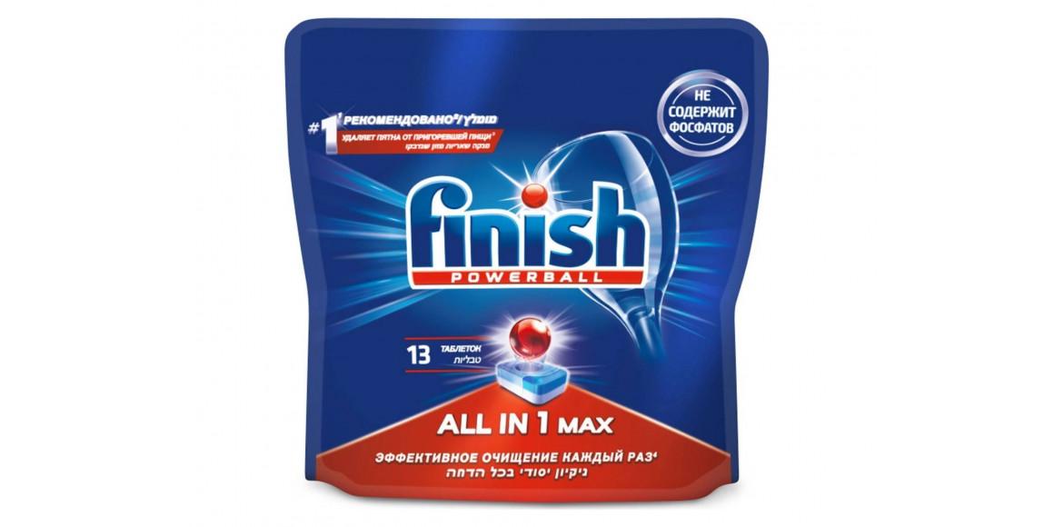 սպասք լվանալու միջոցներ FINISH PODS ALL in ONE 13pc(991387) 1387