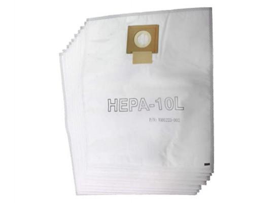 փոշեկուլի պարկ VIPER VA81398 FOR DSU 10L (x10) VA81398