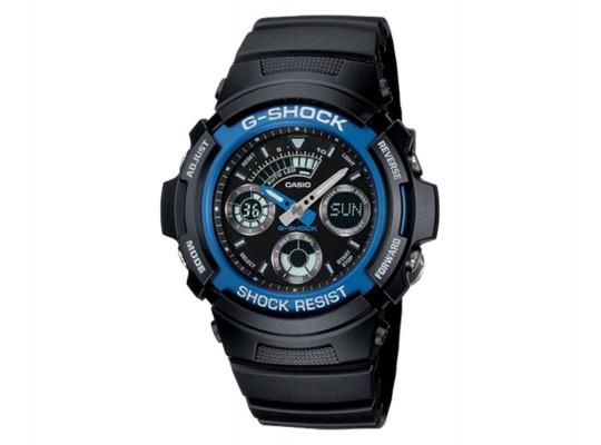 անալոգային ժամացույցներ CASIO G-SHOCK WRIST WATCH AW-591-2ADR