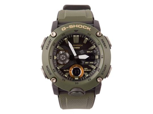 անալոգային ժամացույցներ CASIO G-SHOCK WRIST WATCH GA-2000-3ADR