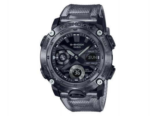 անալոգային ժամացույցներ CASIO G-SHOCK WRIST WATCH GA-2000SKE-8ADR