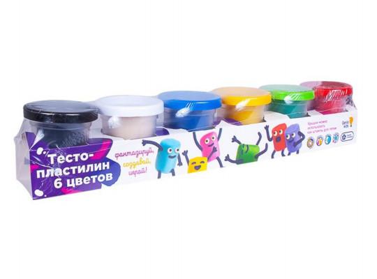 պլաստիրին GENIO TA1009V 6 գույն