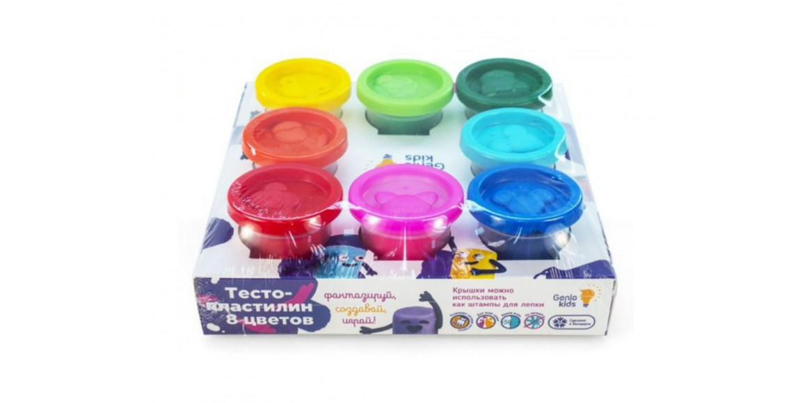 պլաստիրին GENIO TA1045 8 գույն 50գր