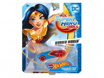 transport HOT WHEELS HW DCU GIRLS CHAR CAR AST DXN49 DXN53