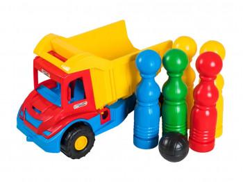 transport TIGRES 39220 Multi Truck грузовик с кеглями
