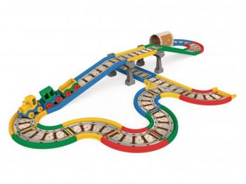 transport WADER Kid Cars - железная дорога 4,1 м 51711