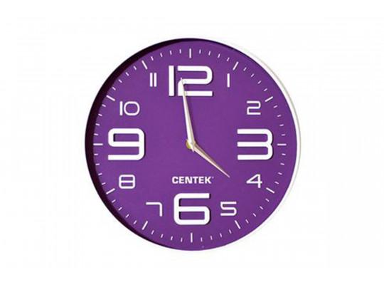 պատի ժամացույց CENTEK CT-7101 VIOLET