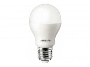 լամպ PHILIPS LED BULB-8-70W-E27-6500K-230V-A60(700990)