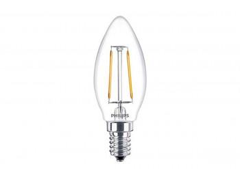 լամպ PHILIPS LED CLASSIC-4-40W-B35-E14-830-CLNDA(623258)