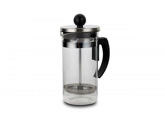 թեյնիկեր/թեյի թրմիչներ NAVA 10-225-001 GLASS 350ML BLACK