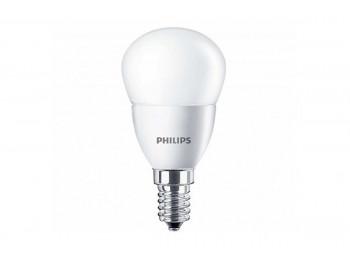 լամպ PHILIPS ESS-LED-6.5-75W-E14-827-P45ND(816998)