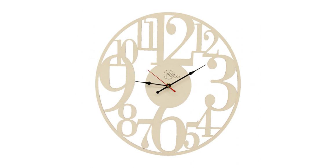 պատի ժամացույց KOCH 848103 WHITE