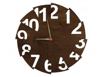 պատի ժամացույց KOCH 848106 BROWN