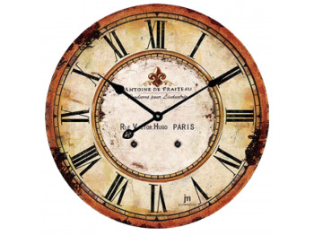 պատի ժամացույց LOWELL 14862