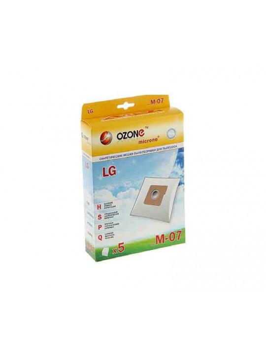 փոշեկուլի պարկ OZONE M-07 (x5)
